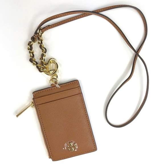 44a5bef19c65 NWT Tory Burch Emerson Lanyard in Tan